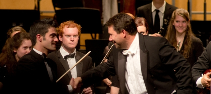 Conductor Arthur Arnold is committed to training the world's future musicians