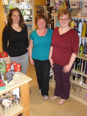 Melissa, Nadine, and Jenny [left to right] are committed to providing the best possible service