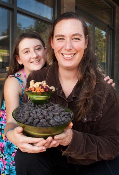 "Self Employment Graduates Jeannie Keays of Mad Chocolates  - The ""Powell River Chocolate Lady"""
