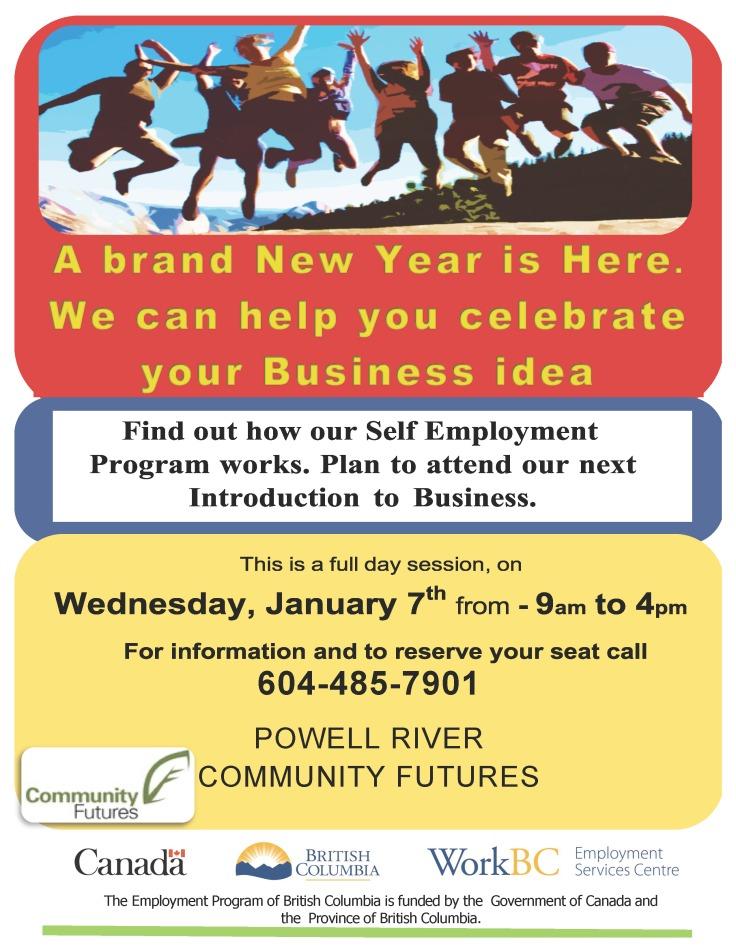 Community Futures facilitates self-employment