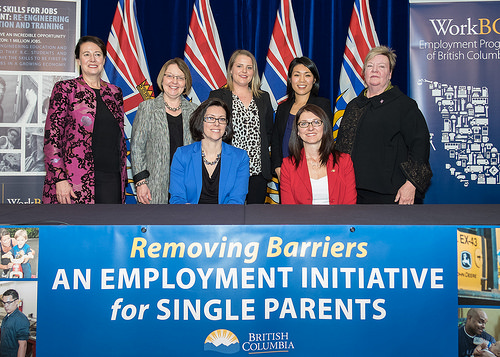 Single Parent Employment Initiative - Ministry of Social Development and Social Innovation, Province of British Columbia