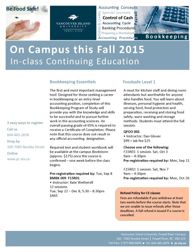 OnCampusFall2015_Poster_FINAL