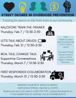 street degree community classes poster